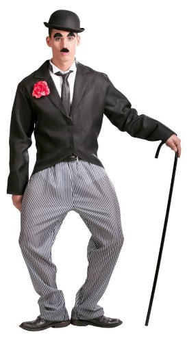 Guirca - Disfraz adulto de Chaplin (80595)