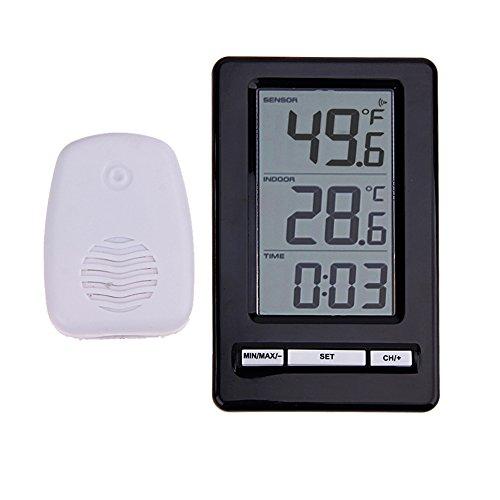 WS-47 Temp Minder Wireless Innen- / Außenthermometer mit Tischuhr -