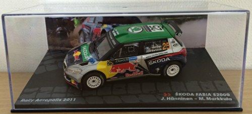 143-auto-skoda-fabia-s2000-hanninen-markkula-rally-acropolis-2011-ixo-1-43-rallye