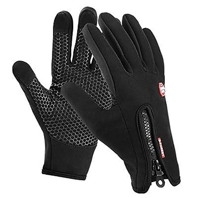 Motenik handschuhe herren touchscreen,handschuhe damen handschuhe wasserdicht für Laufen Fahren Skifahren Skating Klettern von Moonuo - Outdoor Shop