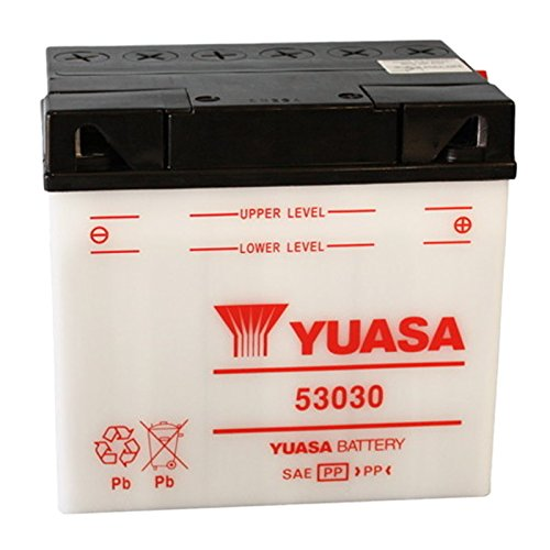 Batteria standard Yuasa 53030 12 V 30 Ah 180 CCA acido non incluso