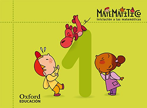 Matematitico 3 Años Pack Cuaderjo de Ejercicios 1 Alum (Matematítico) - 9788467395525