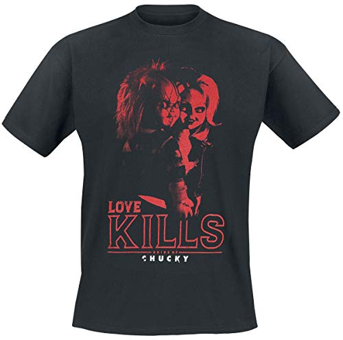 Chucky Love Kills T-Shirt schwarz M