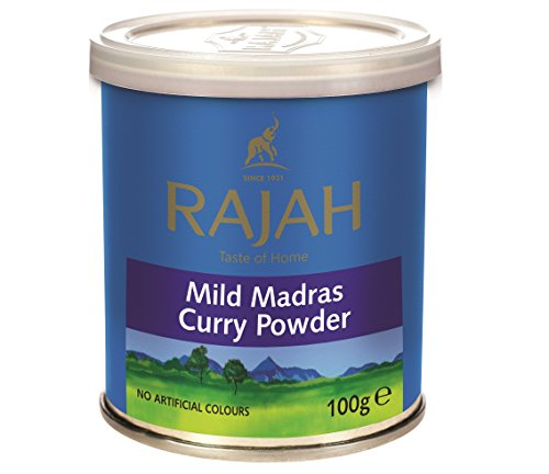 Mild Madras Curry Powder (Tin Box)