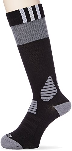 adidas Kinder Socken ID Socks Comfort, black/white/grey, 37-39, AO3337 (Kinder-basketball-socken)