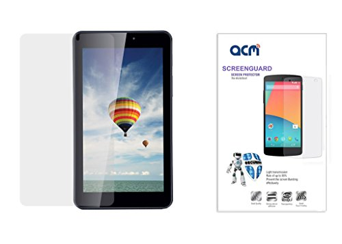 Acm Clear Screenguard For Iball Slide 6095 D20 Q700 3g Tablet Screen Guard Scratch Protector  available at amazon for Rs.199