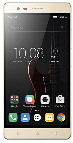 (CERTIFIED REFURBISHED) Lenovo Vibe K5 Note A7020a48 (Gold, 64GB)