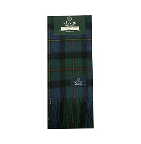 Clans of Scotland Herren Schal Gr. Einheitsgröße, MacLeod of Harris Ancient