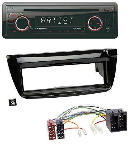 caraudio24 Blaupunkt Alicante 170 CD USB SD MP3 AUX Autoradio für Opel Combo ab 11 FIAT Doblo 12-15 (Auto-cd-player-lautsprecher-combo)