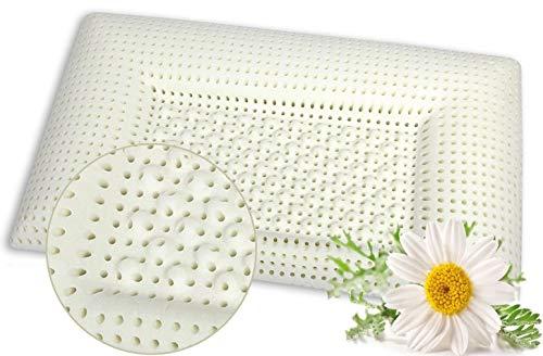 Kopfkissen VENIXSOFT Memory-Schaum, Wärmeempfindliches, 73,5cm x 43cm x H3(14,3 x 9,5 x 11 cm) mit Mikrolöchern für eine verbesserte Atmungsaktivität Made in Italy