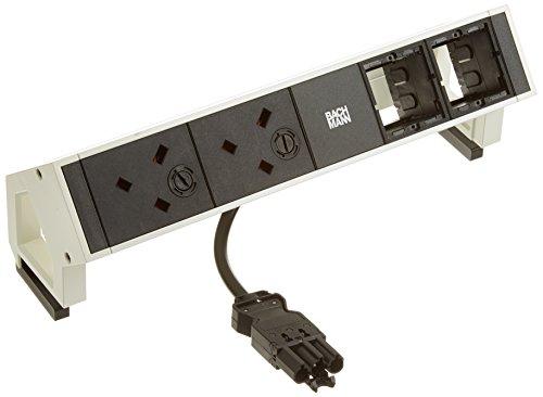Preisvergleich Produktbild Bachmann Steckdosenleiste Desk2 UK, 902207