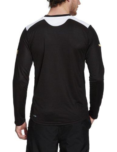 PUMA Herren Shirt King Long Sleeve black-white