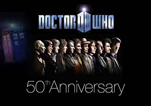 Dr Who - 50th Anniversary tv show - 1 -all Dr Who Actors. A3 Poster