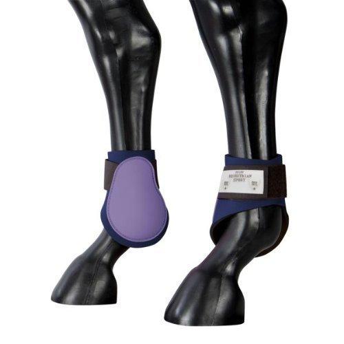 Pfiff Streichkappen zweifarbig mit Soft-Innenfutter und Doppel-Klettverschluss, Größen Full und Pony und in 6 verschiedenen Farben