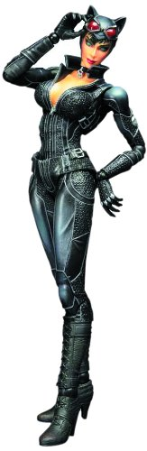 Batman Play Arts - Figura de acción de Catwoman Arkham City 1