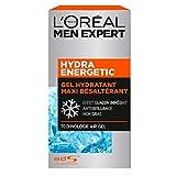 L'Oréal Men Expert - Gel Hydratant Maxi Désaltérant pour Homme - Soin du Visage - Hydra Energetic - 50 ml...