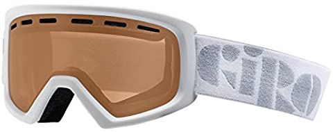 Giro Rev Snow Goggle - Kid's White with Amber Rose Lens