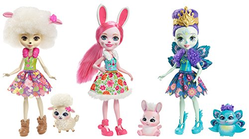 Enchantimals - Pack de 3 muñecas (Mattel FMG18)