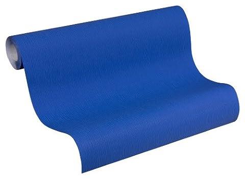 Schöner Wohnen 227782 Vliestapete Unitapete, blau