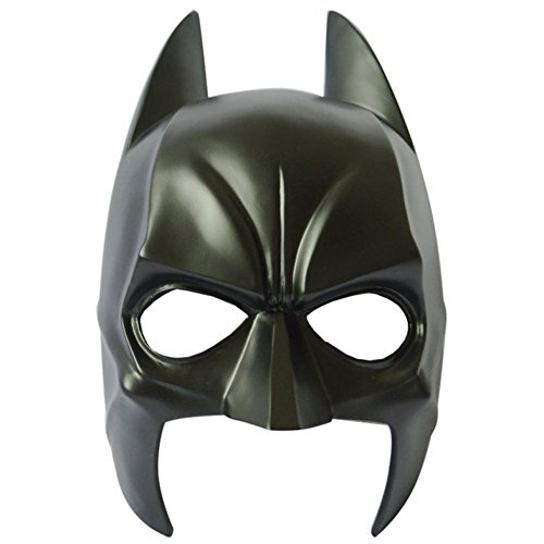 kerade Super Bat Mann Hero Augenmaske Erwachsene Cosplay Partei Kostüm Kostüme Zubehör Handwerk,Batman-30*16.5cm (Asiatische Kostüm Brille)
