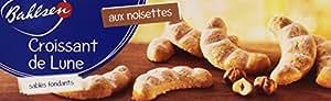 Bahlsen Biscuits Croissant de Lune le Paquet 125 g - Lot de 4