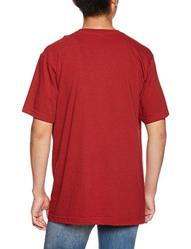 Volcom Herren T-Shirt Dunkelrot