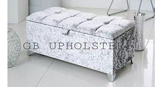 beautiful-large-silver-crush-velvet-fabric-crystal-diamante-chesterfield-style-ottoman-storage-box-b