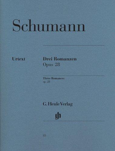 Drei Romanzen op. 28 [Lingua tedesca]