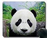 Yanteng Tappetino per Mouse da Gioco Bordi cuciti, Panda Animali Adulti, Tappetino per Mouse, Tappetino in Gomma Antiscivolo per Computer Portatile, Computer