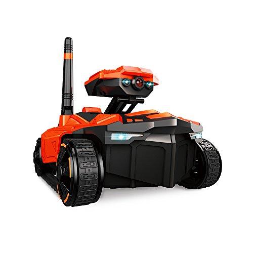 Goolsky ATTOP YD-211 Wifi FPV 0.3MP cámara App control remoto de espionaje de tanque de RC teléfono de juguete robot controlado