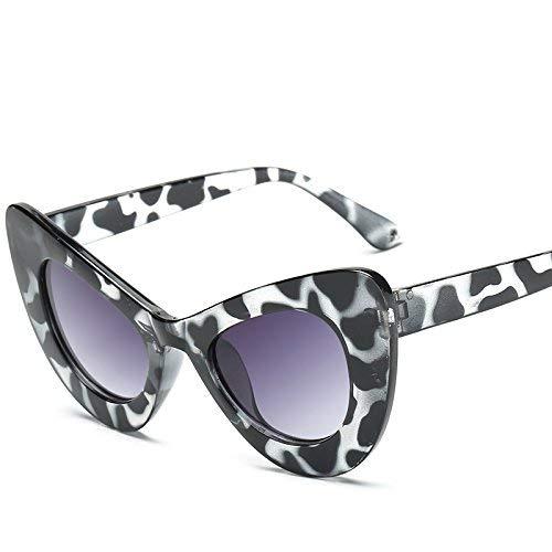 Young shinee Sportbrillen Cat Eye Sonnenbrillen Neue sexy Mode Frauen weibliche Damen Sonnenbrille inspiriert Retro Vintage Sonnenbrille für Frauen (Farbe : LAF5141 C3)