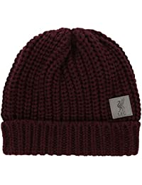 69b79aa8a3a Liverpool FC Red Womens Football Cable Knit Hat AW 18 19 LFC Official