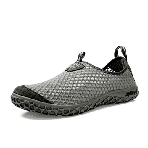 Men's Breathable Slip On Walking Shoes gray