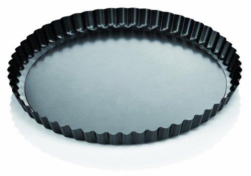 Tescoma 623115 delicia stampo crostata con fondo removibile, diametro 28
