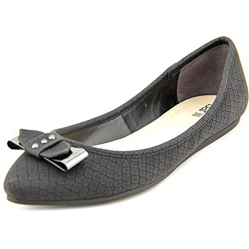 Bar III Penguin Synthétique Chaussure Plate Black