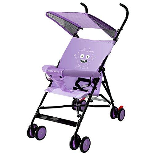Peixia Department Store Kinderwagen Leicht und kompakt Metallrahmen Kinderwagen Spielzeug Geeignet für Babys von 0-36 Monaten (Farbe : 2#)