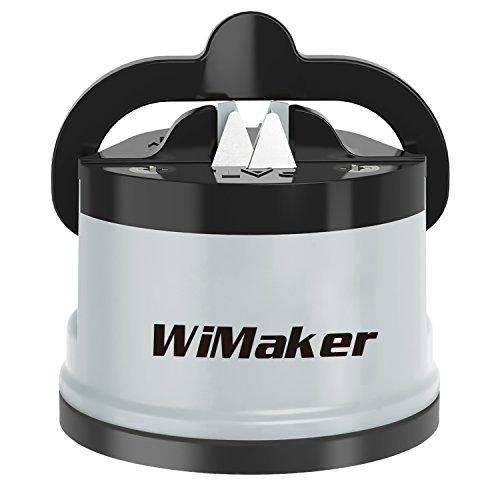 Wimaker home essential temperamatite, mini coltello affilatura pietra per affilare i coltelli coltello da cucina strumento grey