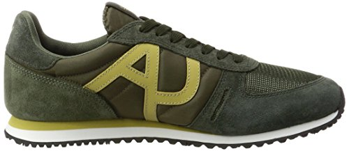 Armani JeansSneaker Low Cut - Low-Top Uomo Grün (Green 1812)