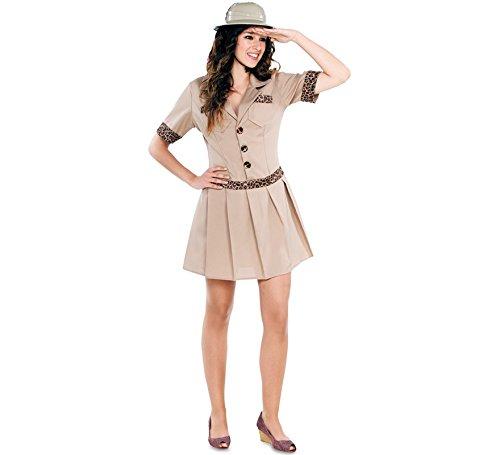 Fyasa 706240-t04Safari Girl Kostüm, - Entdecker Kostüm Männer