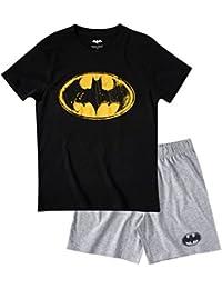 Batman Homme Pyjama court - noir