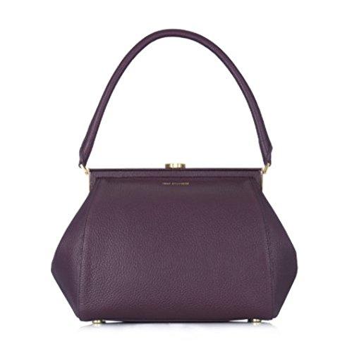 lulu-guinness-annie-grainy-leather-framed-handbag-damson-medium-size