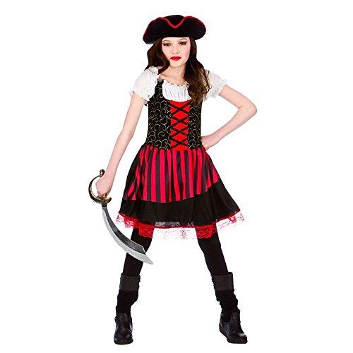 Pretty Pirate Girl - Kids Costume 11 - 13 years