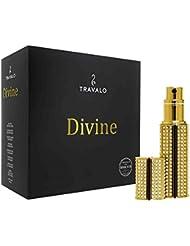 Travalo Zerstäuber für unterwegs wiederaufladbar, Divine Gold