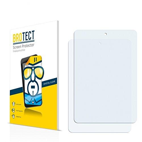 2X BROTECT HD Clear Displayschutz Schutzfolie für Haier HaierPad Mini 781 (kristallklar, extrem Kratzfest, schmutzabweisend)