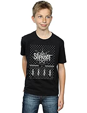 Slipknot Niños 9 Point Christmas Camiseta