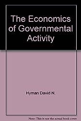 The Economics of Governmental Activity