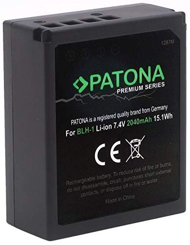 (Volldekodiert) PATONA Premium Ersatz für Akku Olympus BLH-1 (echte 2040mAh) zu Olympus OM-D E-M1 Mark II und OM-D E-M1X