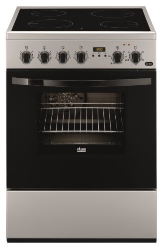 Faure FCV6530CSA Cuisinière Céramique A Argent four et cuisinière - Fours et cuisinières (Cuisinière, Argent, boutons, Rotatif, En haut devant, Céramique, Verre-céramique)