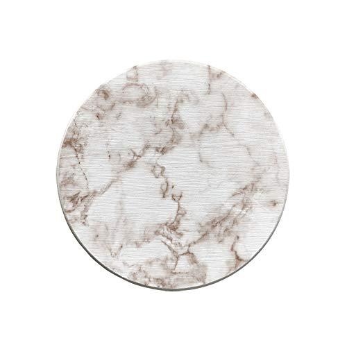 ZCHPDD Ronde De Marbre Ronde Coaster Rayures Absorbantes Diatomée Boue Coaster Décoration De Bureau Dessous De Verre Créatif Marble Stripe 02 10 * 10Cm*4Pcs -