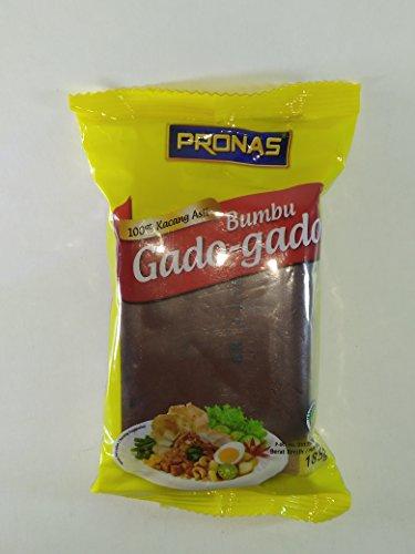 Pronas Bumbu Gado-gado (sauce aux arachides pour légumes mélangés), 185 Grammes